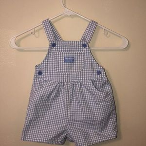 OshKosh B'Gosh Girls Overall Shorts
